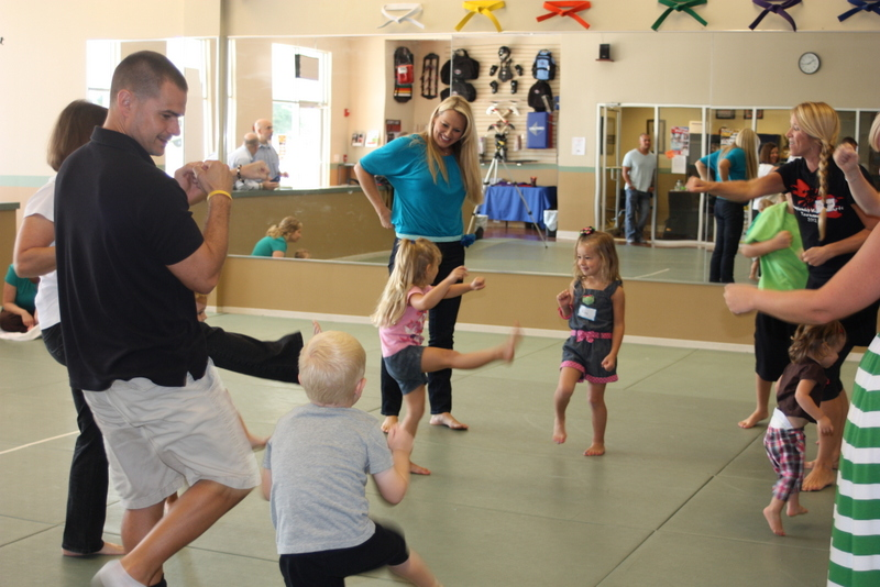 Sacramento mommy and me martial arts karate class